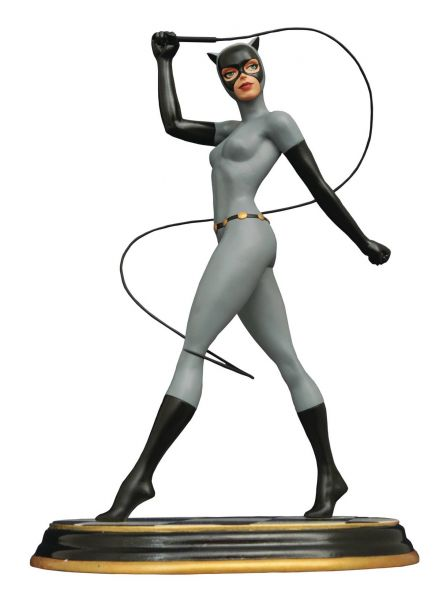 BATMAN ANIMATED SERIES PREMIER COLLECTION CATWOMAN STATUE