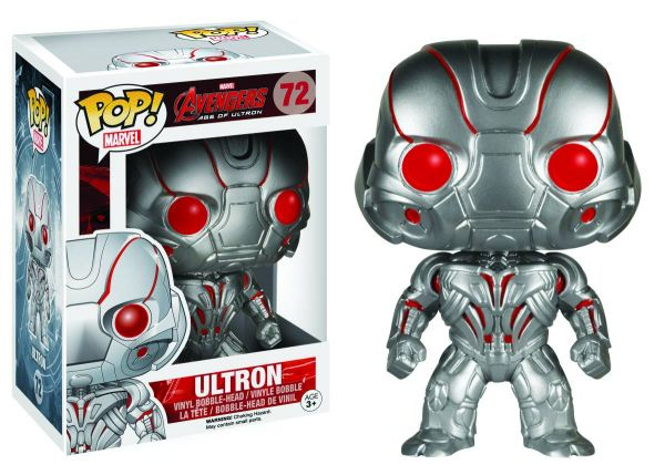 AVENGERS AGE OF ULTRON ULTRON VINYL FIGUR defekte Verpackung