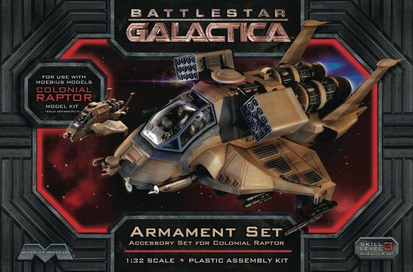 BATTLESTAR GALACTICA RAPTOR 1/32 ARMAMENT MODELLBAUSATZ
