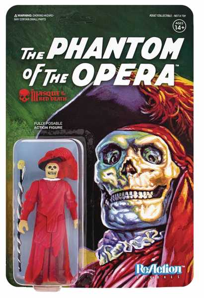 UNIVERSAL MONSTERS MASQUE OF THE RED DEATH REACTION ACTIONFIGUR