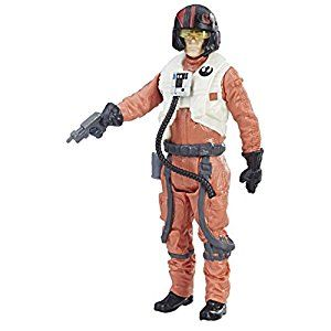 Star Wars Force Link Poe Dameron (Resistance Pilot) Action Figure