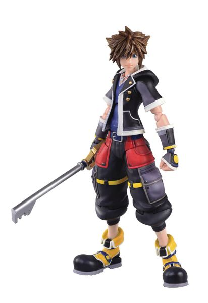 KINGDOM HEARTS 3 SORA 2ND FORM BRING ARTS 15 cm PX ACTIONFIGUR