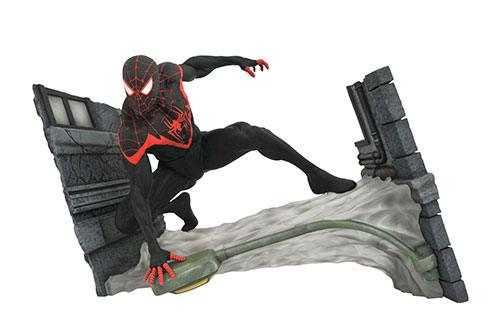 MARVEL GALLERY Marvel Comic Miles Morales Spider-Man (Exclusive) PVC STATUE