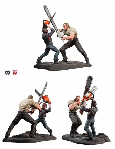 VORBESTELLUNG ! Mandy Chainsaw Battle 25 cm Statue