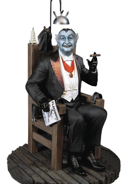 MUNSTERS GRANDPA MUNSTER MAQUETTE STATUE