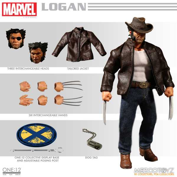 ONE-12 COLLECTIVE MARVEL LOGAN ACTIONFIGUR