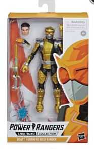 POWER RANGERS LIGHTNING BM Gold Ranger 6INCH ACTIONFIGUR