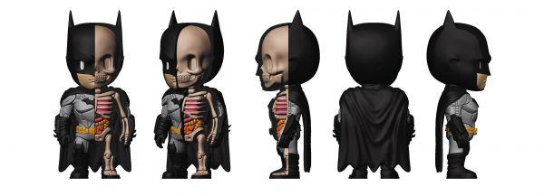 XXRAY + DC COMICS BATMAN 10cm VINYL FIGUR