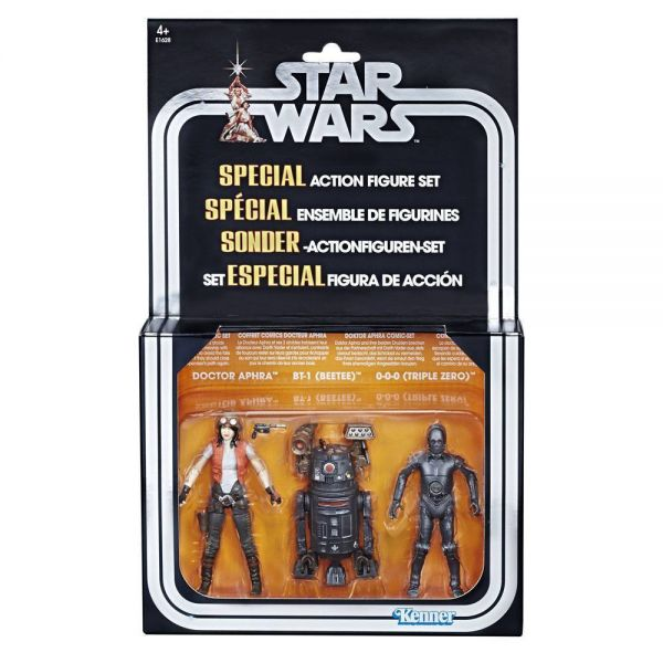 STAR WARS 10 cm DOCTOR APHRA COMIC-SET SDCC EXCLUSIVE