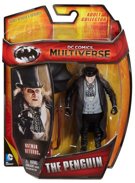 DC MULTIVERSE 10cm BATMAN RETURNS PENGUIN ACTIONFIGUR