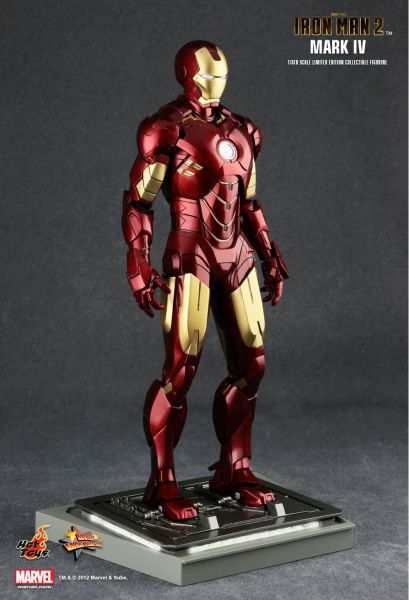 HOT TOYS IRON MAN 2 MARK IV ACTIONFIGUR