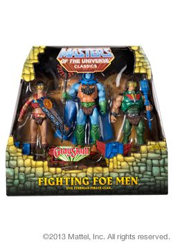 MASTERS OF THE UNIVERSE FIGHTING FOE MAN