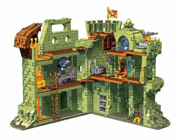 Masters of the Universe Mega Construx Probuilder Bauset Castle Grayskull