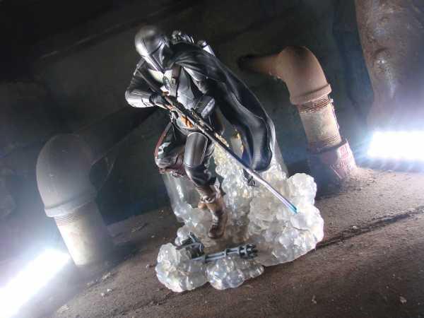 Star Wars: The Mandalorian Gallery The Mandalorian PVC Statue Exclusive