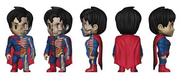 XXRAY + DC COMICS SUPERMAN 10cm VINYL FIGUR