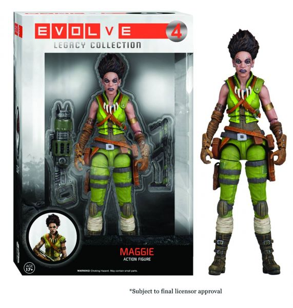 LEGACY EVOLVE MAGGIE ACTIONFIGUR