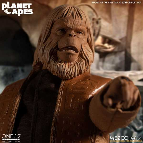 VORBESTELLUNG ! Planet of the Apes (1968): Dr. Zaius One:12 Collective Actionfigur