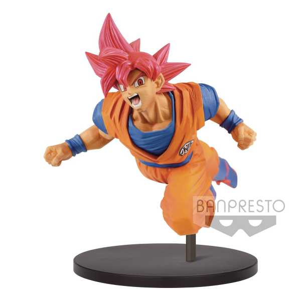 DRAGON BALL SUPER SON GOKU FES V9 SUPER SAIYAN GOD FIGUR