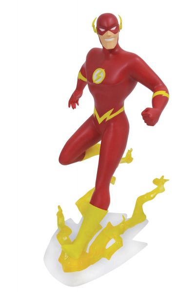 DC GALLERY JLA TAS FLASH PVC STATUE