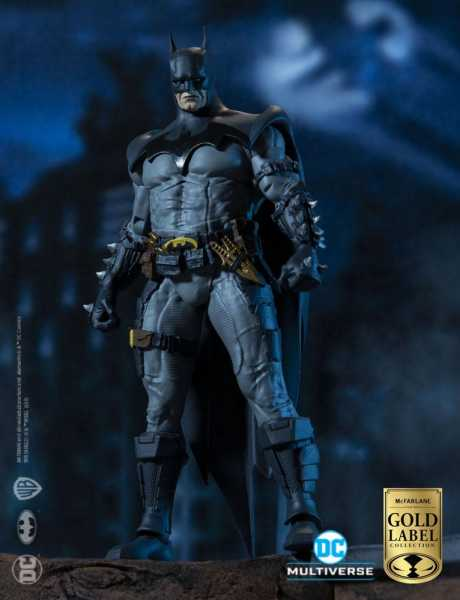 VORBESTELLUNG ! DC Multiverse Batman by Todd McFarlane Gold Label Collection 18 cm Actionfigur