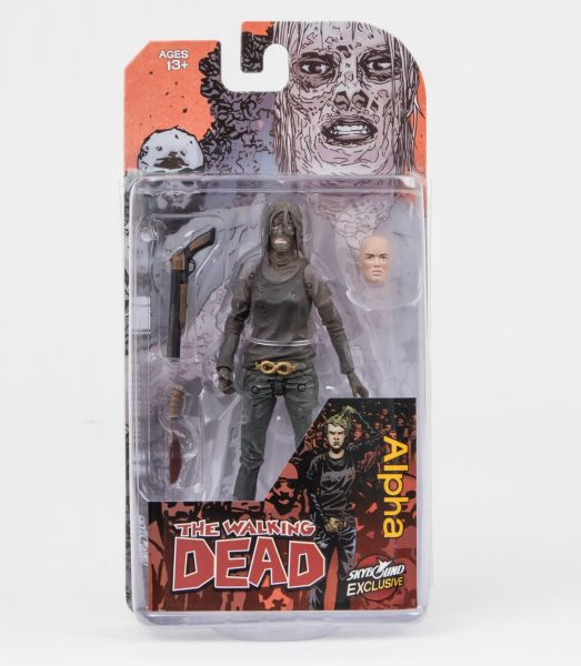 THE WALKING DEAD ALPHA ACTIONFIGUR COLOR VERSION