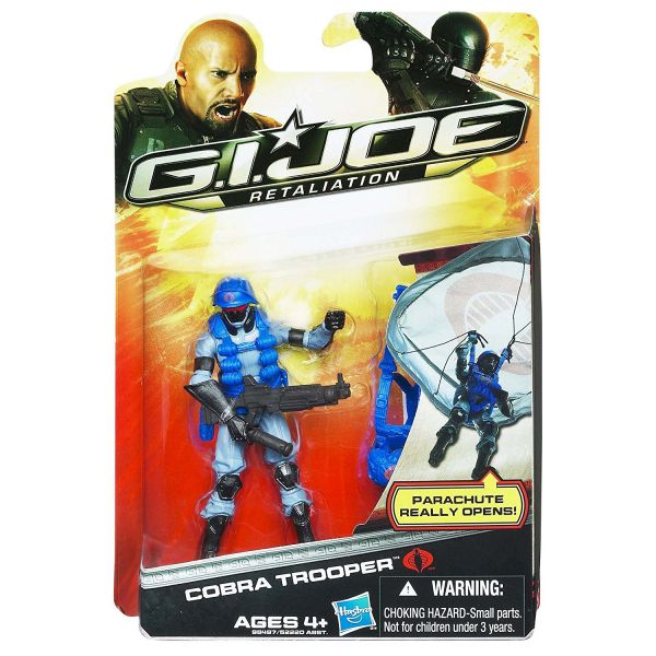 GI JOE 2 MOVIE COBRA TROOPER ACTIONFIGUR