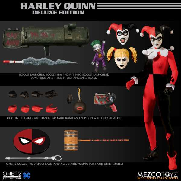 VORBESTELLUNG ! ONE-12 COLLECTIVE DC HARLEY QUINN DELUXE EDITION