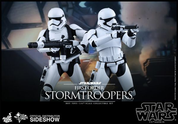 Hot Toys Star Wars The Force Awakens 1/6 First Order Stormtroopers 30 cm Actionfiguren 2-Pack