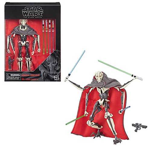 STAR WARS BLACK SERIES GENERAL GRIEVOUS ACTIONFIGUR