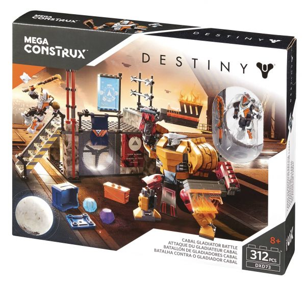 MEGA CONSTRUX DESTINY CABAL GLADIATOR BATTLE SET