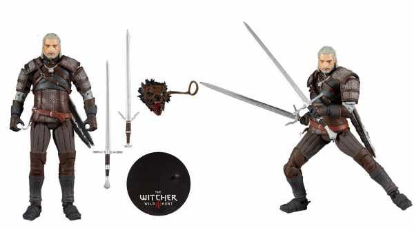 The Witcher Geralt 18 cm Actionfigur