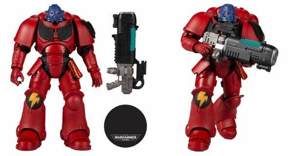 VORBESTELLUNG ! Warhammer 40k Blood Angels Hellblaster 18 cm Actionfigur