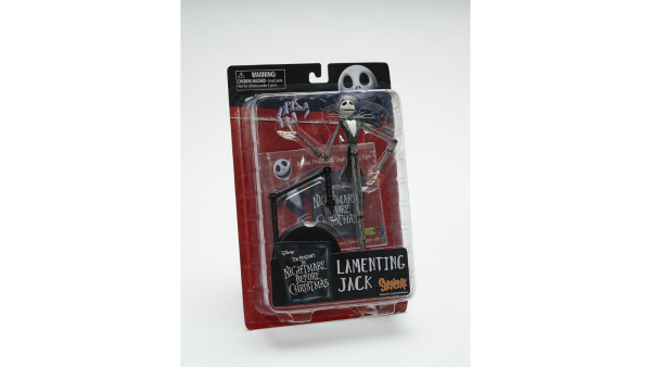 NIGHTMARE BEFORE CHRISTMAS LAMENTING JACK SPENCERS EXCLUSIVE LIMITED EDITION ACTIONFIGUR