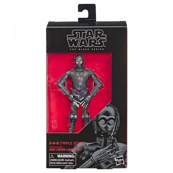 STAR WARS BLACK SERIES 0-0-0 (TRIPLE ZERO) ACTIONFIGUR