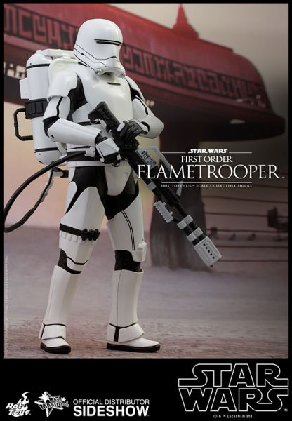 Hot Toys Star Wars The Force Awakens 1/6 First Order Flametrooper 30 cm Actionfigur