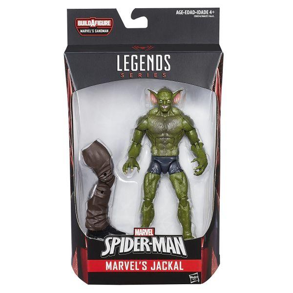 MARVEL LEGENDS SPIDER-MAN: JACKAL 15cm ACTIONFIGUR