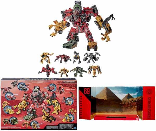 Transformers Studio Series Revenge of the Fallen Devastator Constructicon Combiner Set