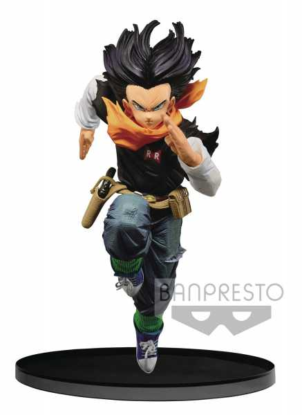 DRAGON BALL Z BANPRESTO WORLD COLOSSEUM V3 ANDROID 17 FIGUR