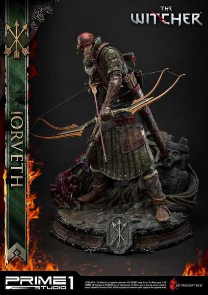 VORBESTELLUNG ! The Witcher 2: Assassins of Kings Iorveth 50 cm Statue