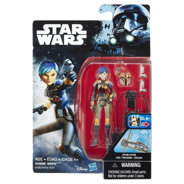 Star Wars Rebels Sabine Wren 10cm Actionfigur