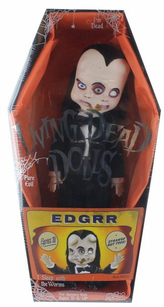 LIVING DEAD DOLLS SERIES 30 EDGRR PUPPE