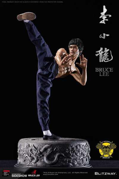 VORBESTELLUNG ! Bruce Lee Statue 1/4 80th Anniversary Tribute 55 cm Statue