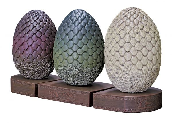 GAME OF THRONES DRAGON EGG BUCHSTÜTZEN