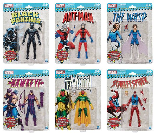 MARVEL SUPER HEROES VINTAGE WAVE 2 KOMPLETT-SET