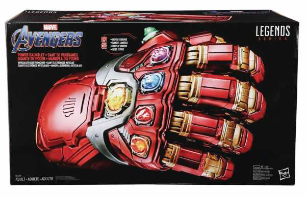 MARVEL LEGENDS GEAR ENDGAME POWER GAUNTLET