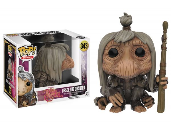 POP DARK CRYSTAL URUSOL THE CHANTER VINYL FIGUR defekte Verpackung