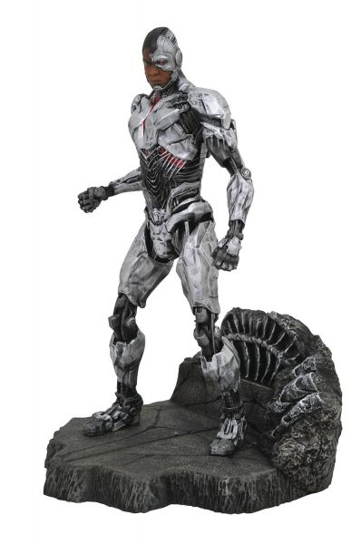 JUSTICE LEAGUE MOVIE GALLERY CYBORG PVC STATUE
