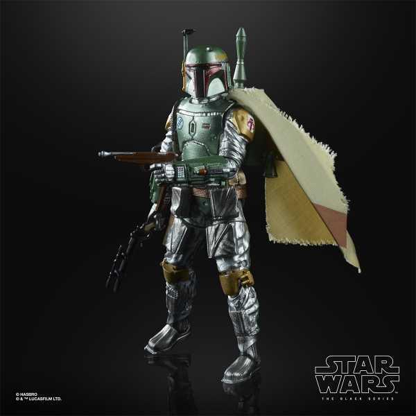 VORBESTELLUNG ! Star Wars The Black Series Carbonized Boba Fett 6 Inch Actionfigur