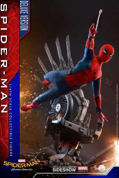 VORBESTELLUNG ! Spider-Man: Homecoming Quarter Scale Series Actionfigur 1/4 Spider-Man Deluxe Versio
