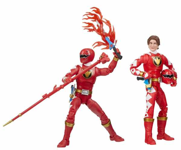 Power Rangers Lightning Collection Dino Thunder Red Ranger 6 Inch Actionfigur